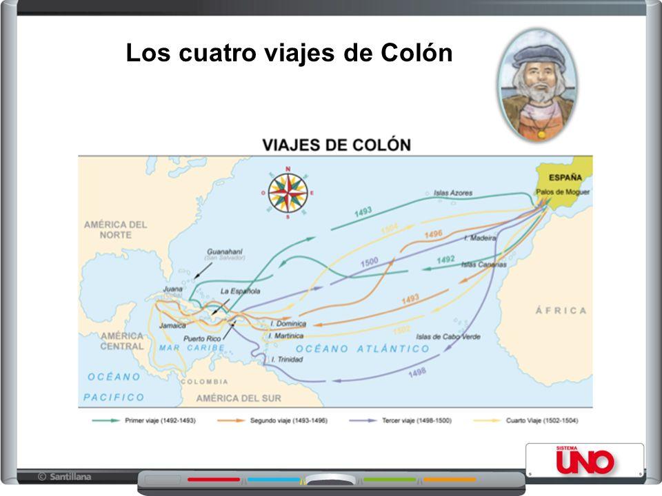 Los cuatro viajes de Colón