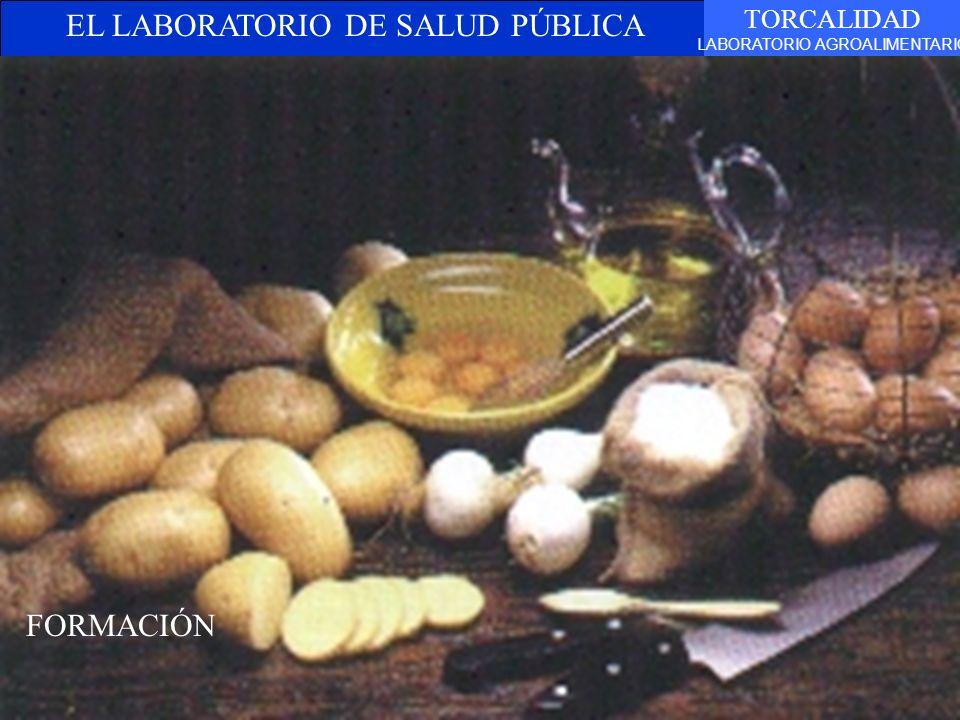EL LABORATORIO DE SALUD PÚBLICA TORCALIDAD LABORATORIO AGROALIMENTARIO TEXTO FORMACIÓN