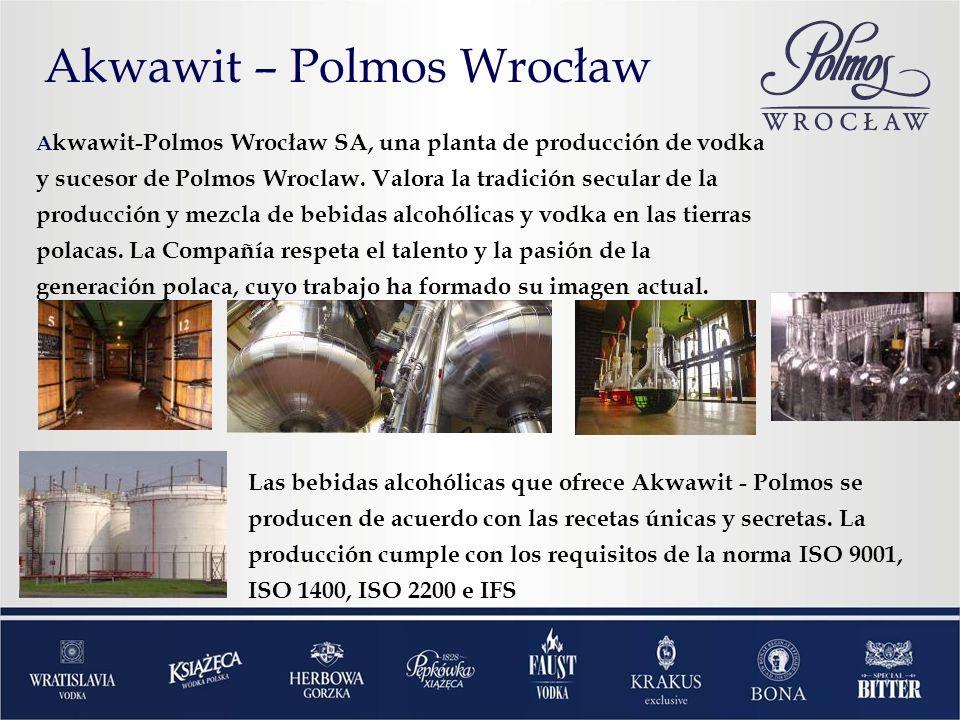 A kwawit-Polmos Wrocław SA, una planta de producción de vodka y sucesor de Polmos Wroclaw.