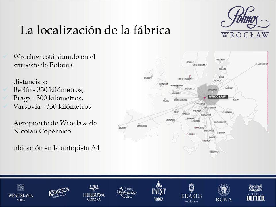 Wroclaw está situado en el suroeste de Polonia distancia a: Berlín - 350 kilómetros, Praga - 300 kilómetros, Varsovia - 330 kilómetros Aeropuerto de Wroclaw de Nicolau Copérnico ubicación en la autopista A4 La localización de la fábrica
