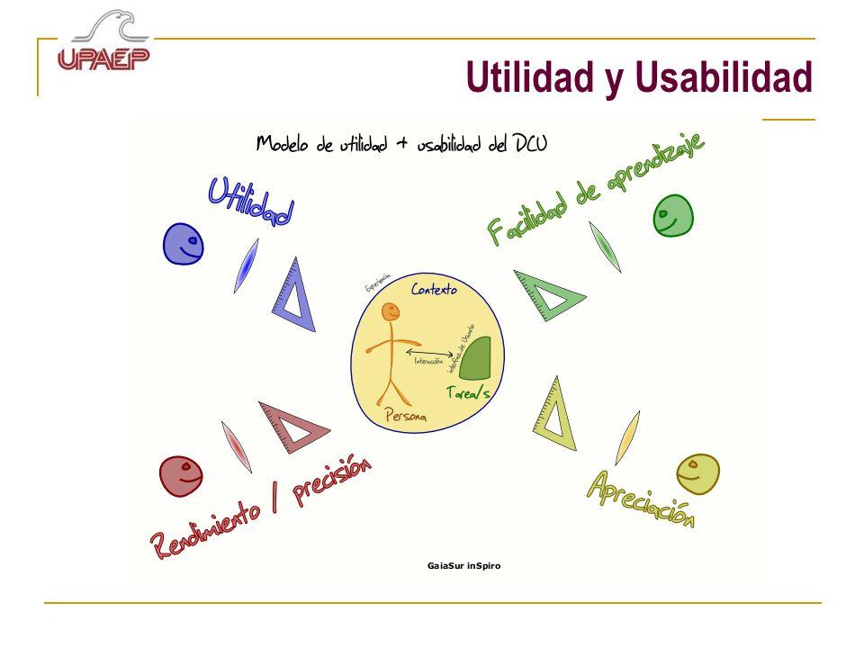 Utilidad y Usabilidad