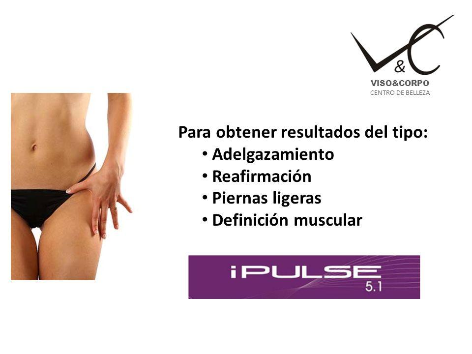 Sistema de alta tecnología que permite tratar todas las problemáticas relacionadas con el adelgazamiento (todo tipo de celulitis y de grasas profundas), la firmeza, la tonificación y las piernas cansadas.