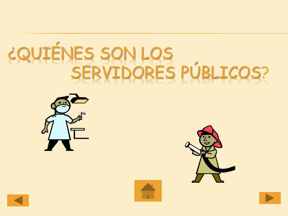 A través de este módulo los estudiantes podrán: Identificar los diferentes servidores públicos. Reconocer la labor que desempeña el servidor público.