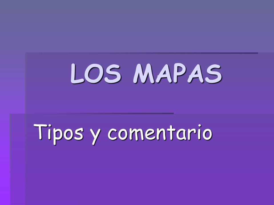 DEFINICIÓN Un mapa es una representación en un plano y a escala de un determinado territorio.