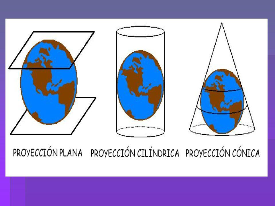 MAPAS TOPOGRÁFICOS Representan las formas del relieve.