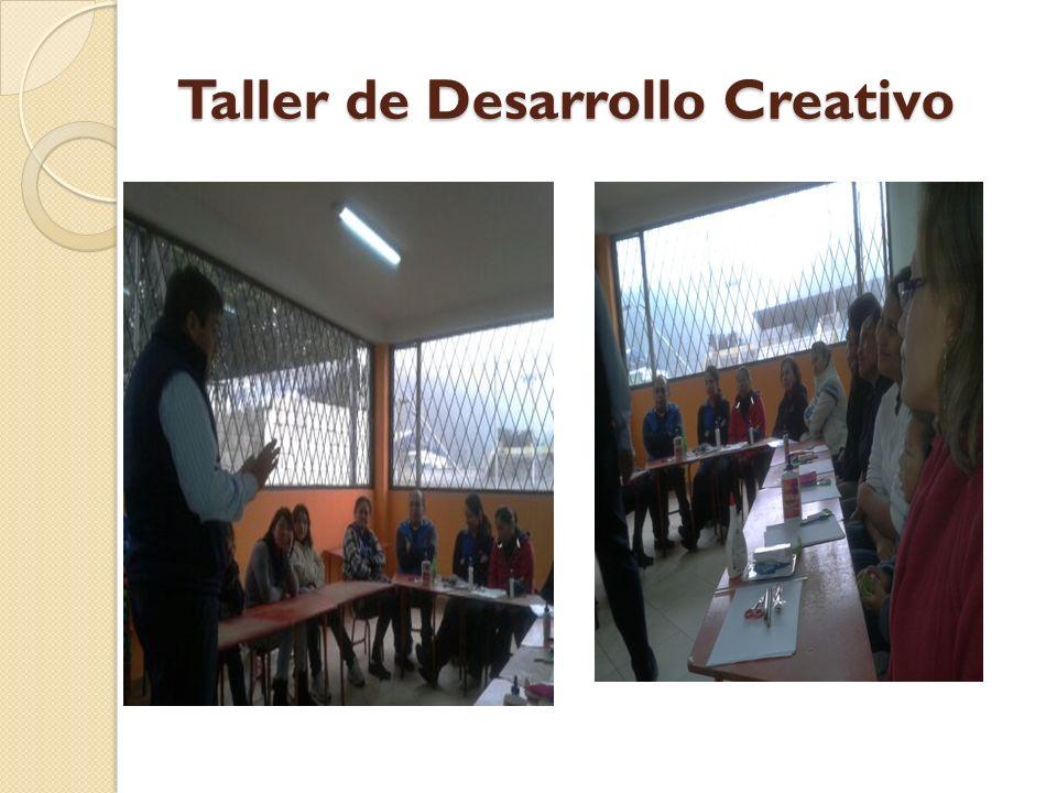 Taller de Desarrollo Creativo