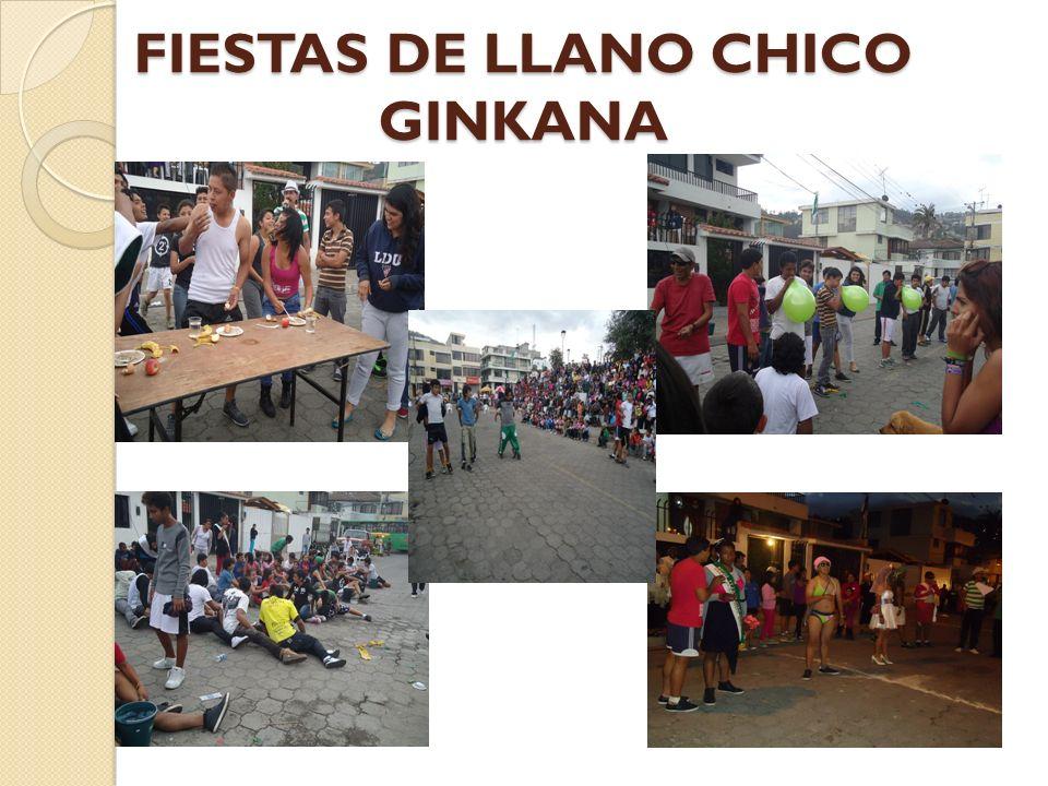 FIESTAS DE LLANO CHICO GINKANA