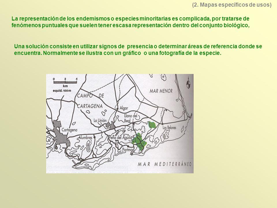 Los mapas de vegetación van acompañados de gráficos de índices bioclimáticos que relacionan las condiciones climáticas con el potencial biológico (10.