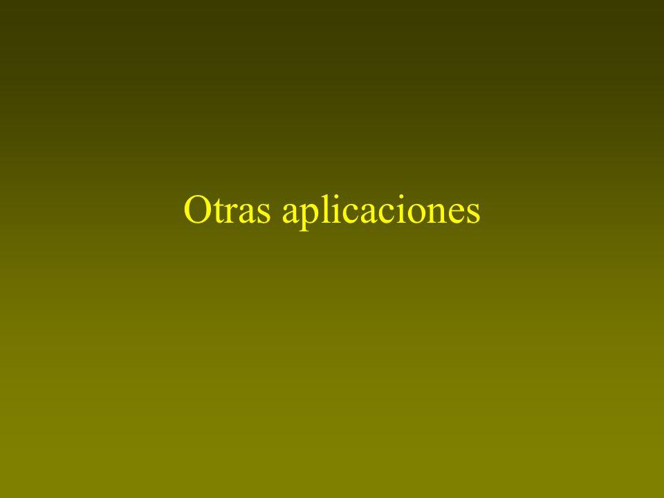 Otras aplicaciones