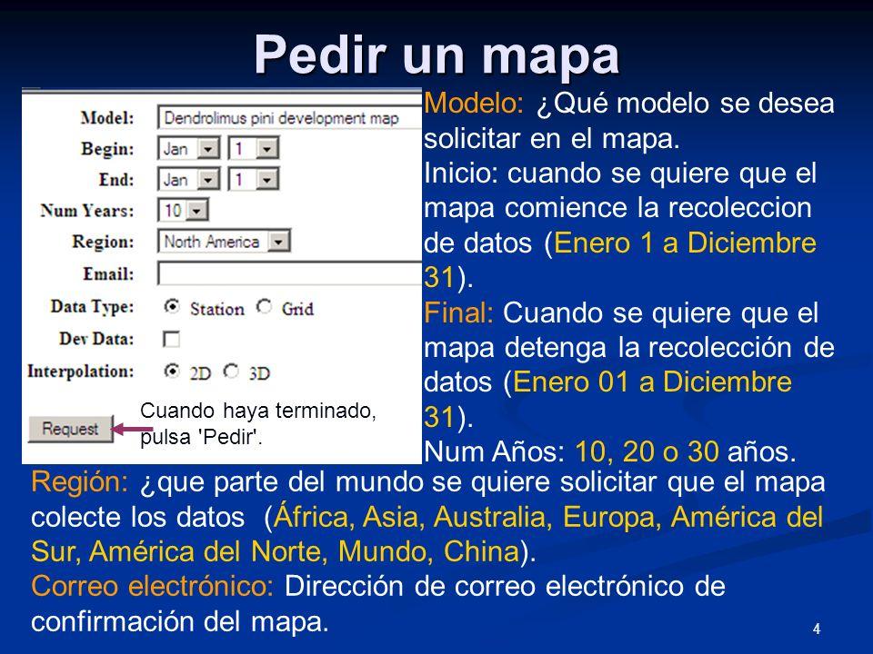 5 Pedir un mapa Tipo de datos: la station se utiliza para la América del Norte, 2000 + estaciones han informado datos.