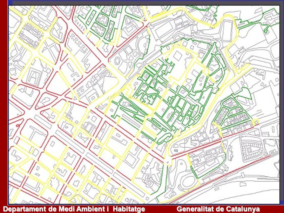 Mapas estratégicos de ruido Órgano competente: Departamento Medio Ambiente y Vivienda Declara y notifica: aglomeraciones municipales y supramunicipales infraestructuras, según criterios M.
