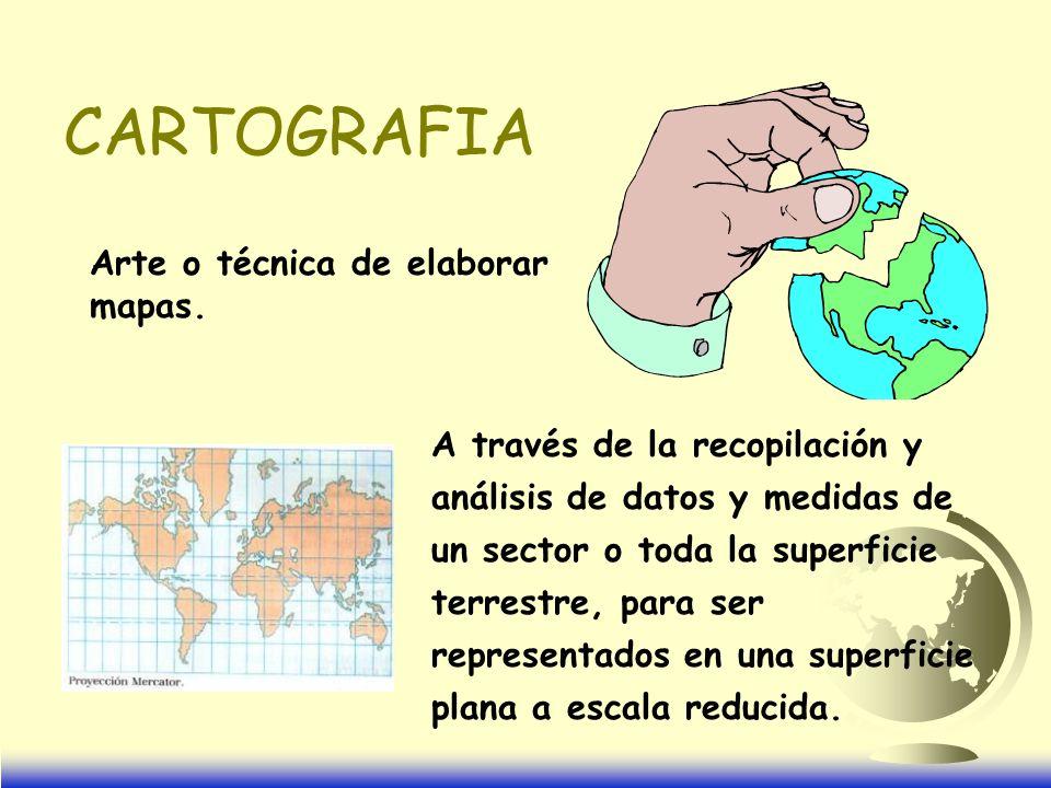 MAPAS TOPOGRAFICOS O BASICOS Utilizados como base para adicionar nueva información y resultados finales de un estudio.