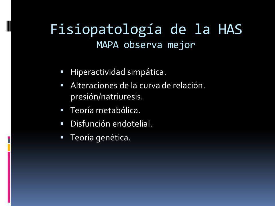 MAPA Conceptualizaciones derivadas -dippers ( caida de TA nocturna) y overdippers.