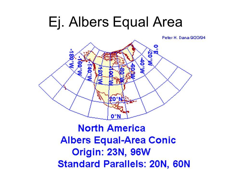 Ej. Albers Equal Area