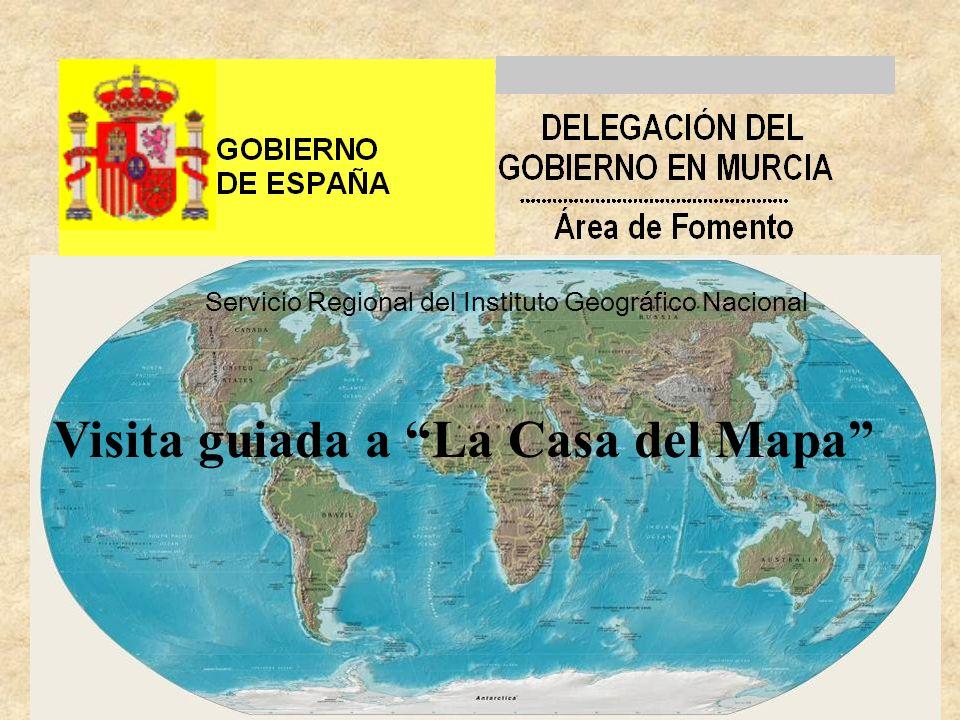 Servicio Regional del Instituto Geográfico Nacional Visita guiada a La Casa del Mapa