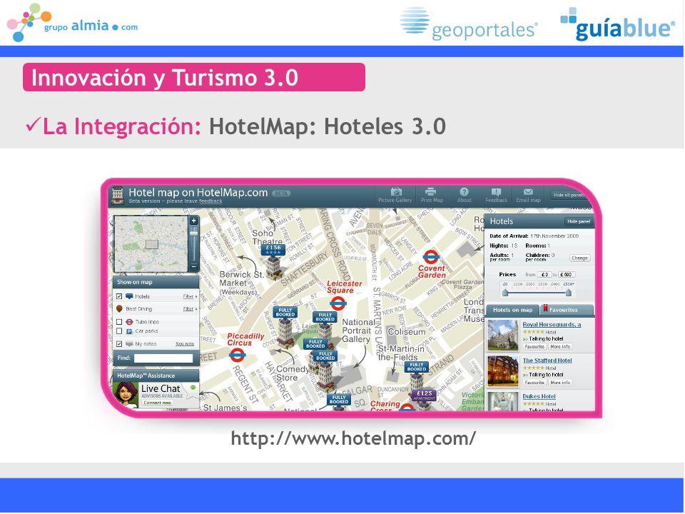 http://www.hotelmap.com/ La Integración: HotelMap: Hoteles 3.0 Innovación y Turismo 3.0