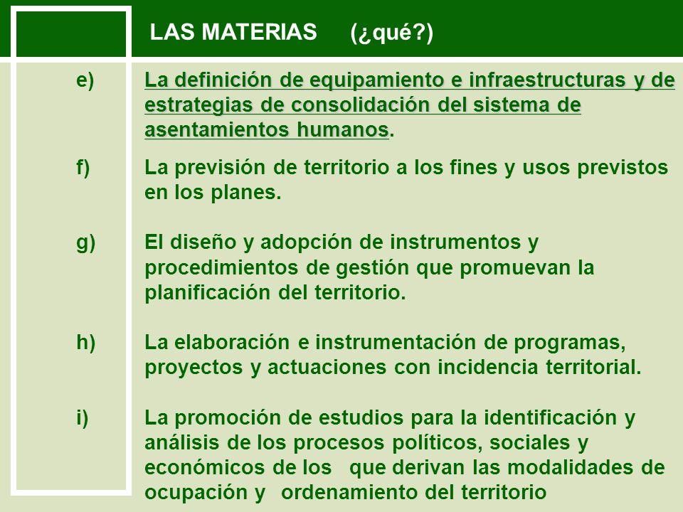 INSTRUMENTOS DE OT (¿cómo?) ORDENACIÓN DEL TERRITORIO EN SUS DIFERENTES ESCALAS - ESTRATEGIAS REGIONALES (Artículo: 12) - PLANES INTERDEPARTAMENTALES (Artículo: 18) NACIONAL REGIONAL DEPARTA- MENTAL DIRECTRICES Y PROGRAMAS NACIONALES (Art.