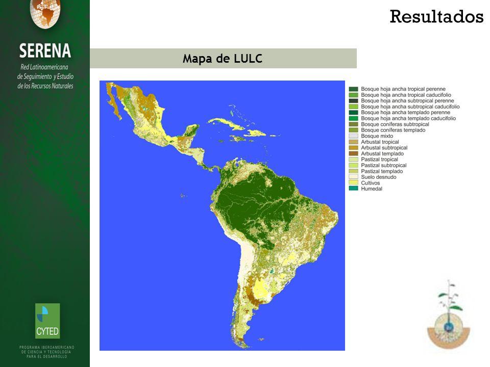 Mapa de LULC Resultados