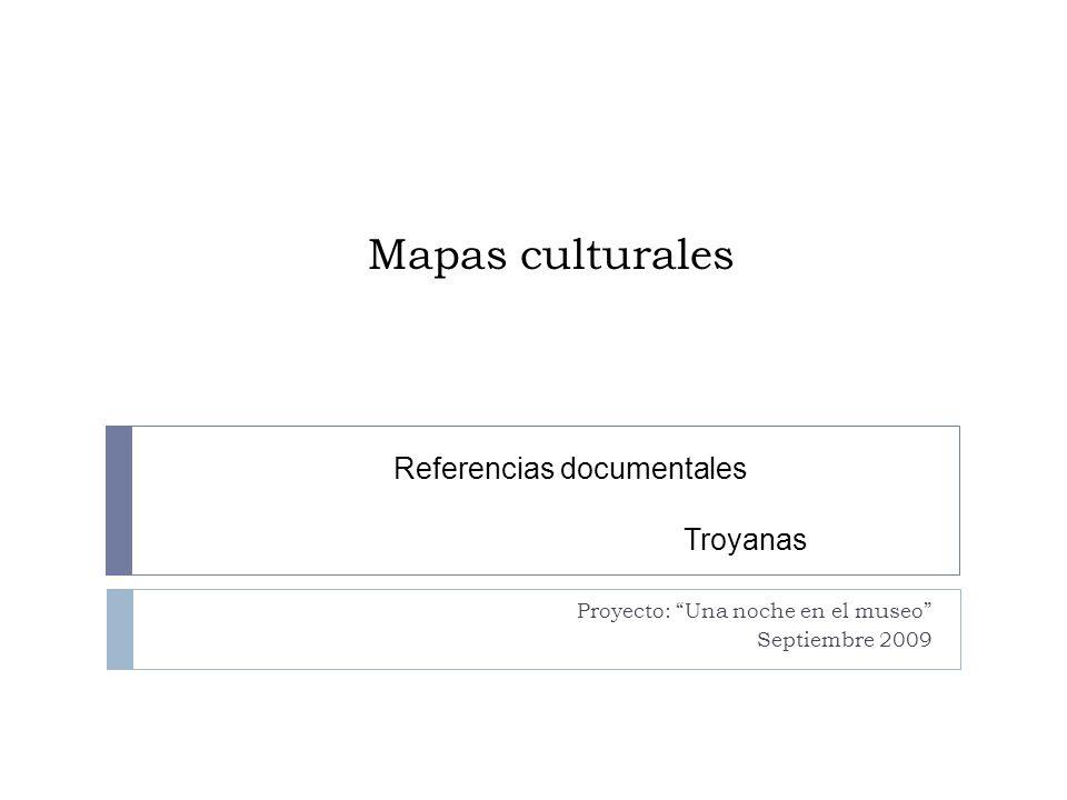 Notas metodológicas para la presentación de mapas culturales Los mapas culturales nos permiten ubicar geográficamente los espacios culturales de las diferentes civilizaciones, facilitan la construcción del marco histórico que sirven el entendimiento de la literatura de los diferentes pueblos