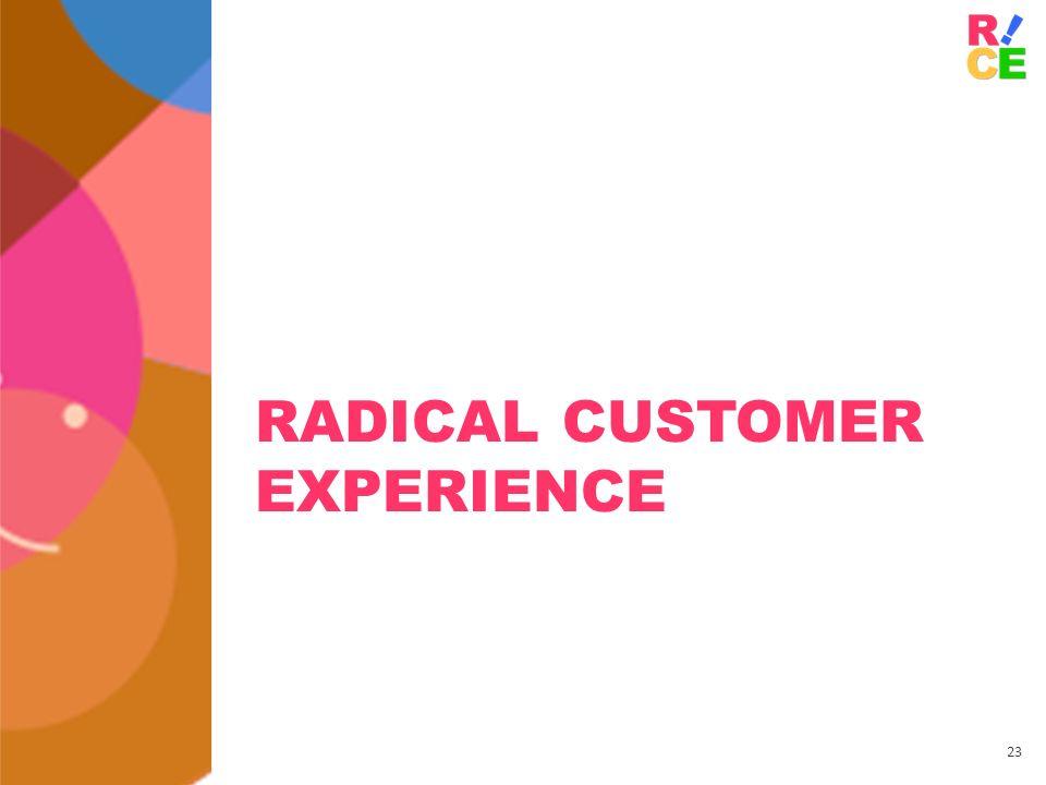 23 RADICAL CUSTOMER EXPERIENCE