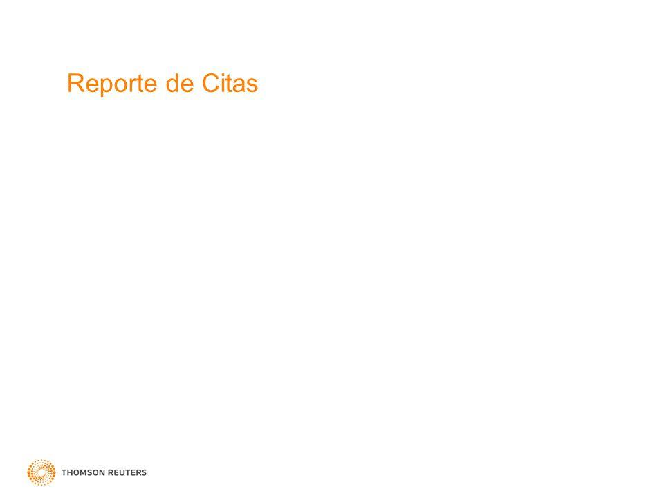 Reporte de Citas