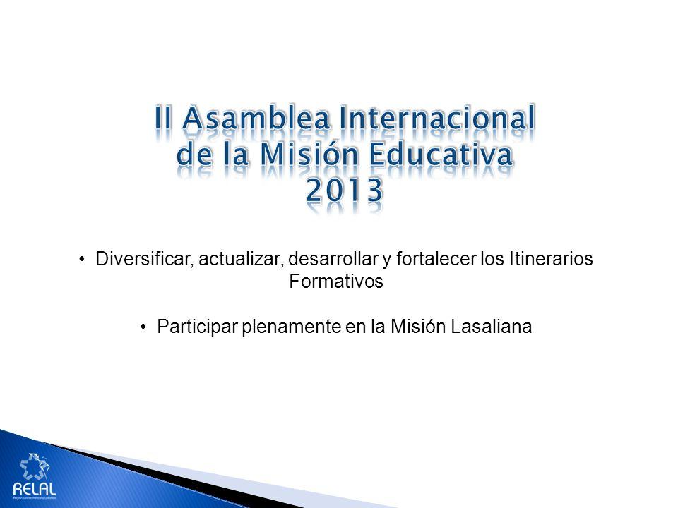 Potencial formativo Estructuras formativas consolidadas Profesionales calificados Nuevas tecnologías Formación de Formadores y líderes