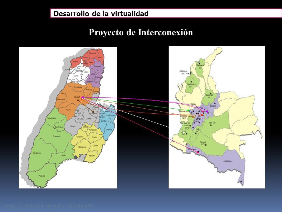 http://utolima.ut.edu.co/idead/ Proyecto de Interconexión Ibagué - Bogotá - Sibaté - Girardot – Popayán - Mocoa - Armenia -Pereira – Espinal - Melgar