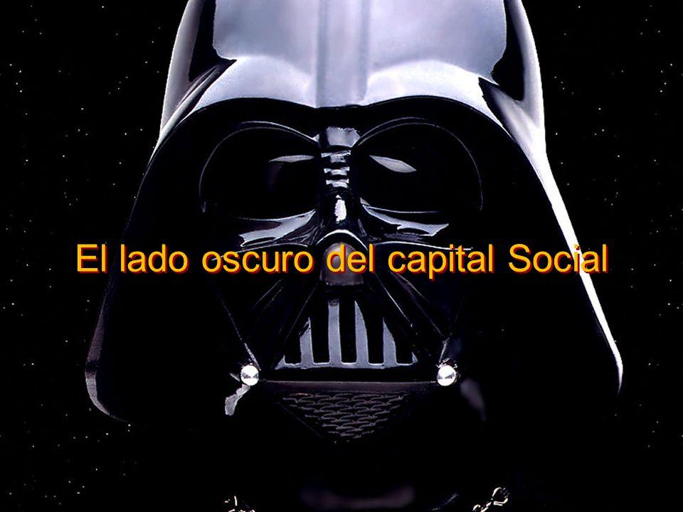 ¿Consecuencias…? El lado oscuro del capital Social