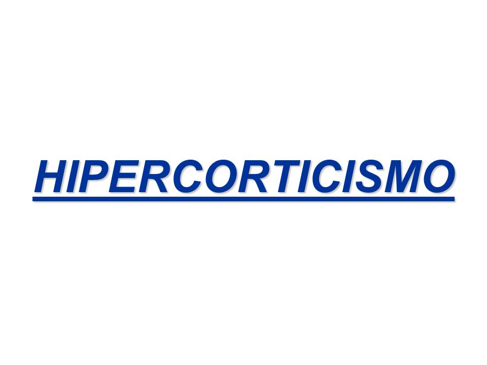 HIPERCORTICISMO
