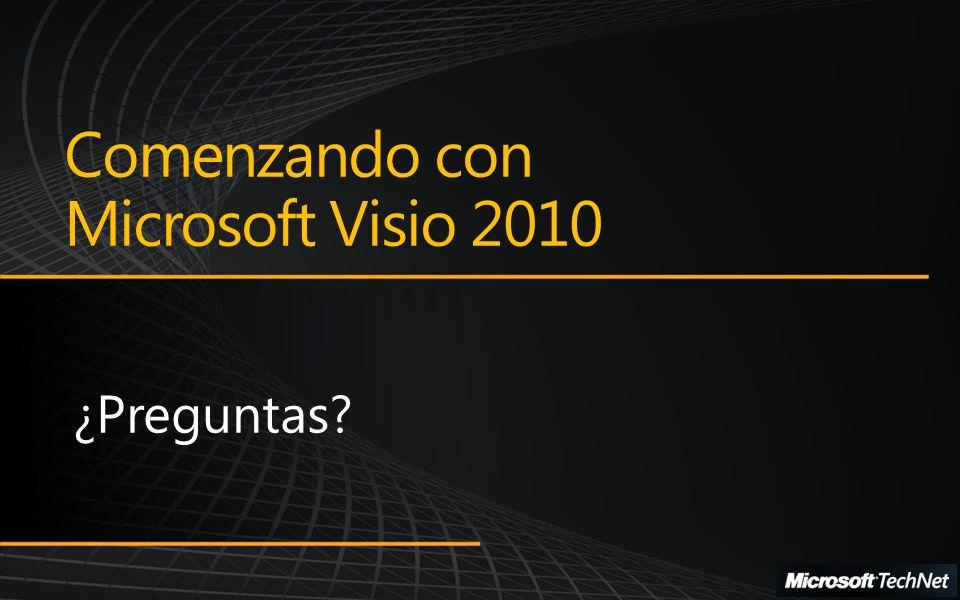 Comenzando con Microsoft Visio 2010