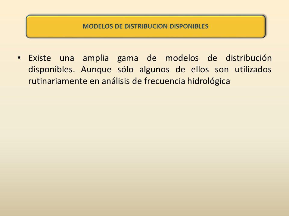 Existe una amplia gama de modelos de distribución disponibles.