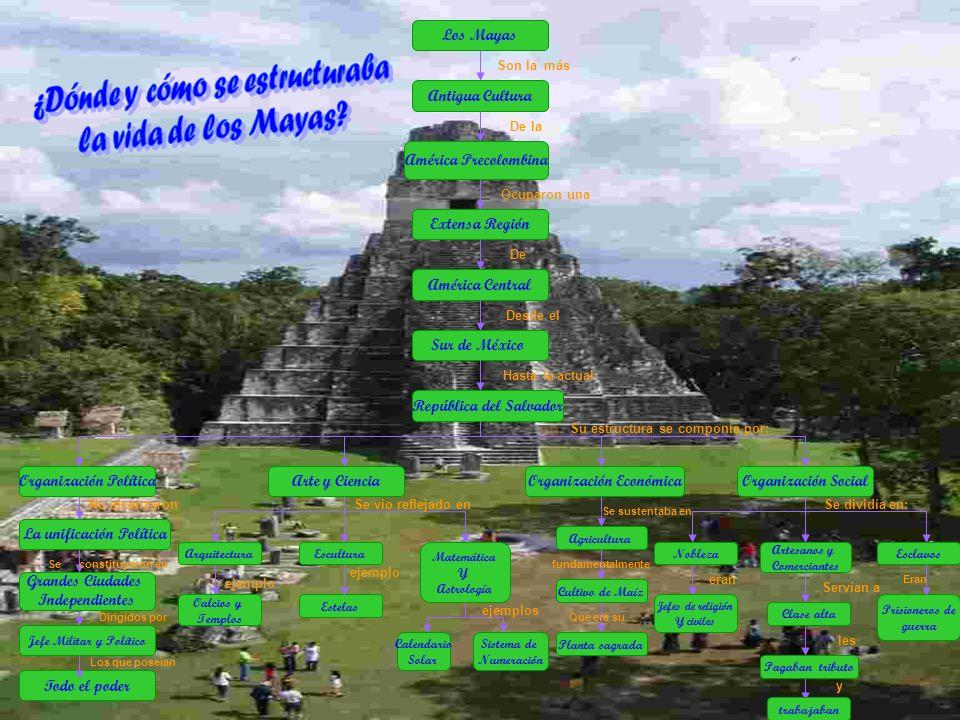 Los Mayas Son la más De la República del Salvador Organización Política Sur de México América Central Extensa Región América Precolombina Antigua Cult