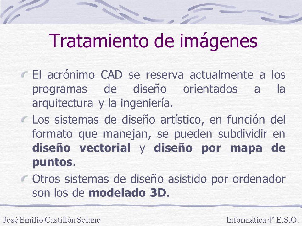 El acrónimo CAD se reserva actualmente a los programas de diseño orientados a la arquitectura y la ingeniería. Los sistemas de diseño artístico, en fu