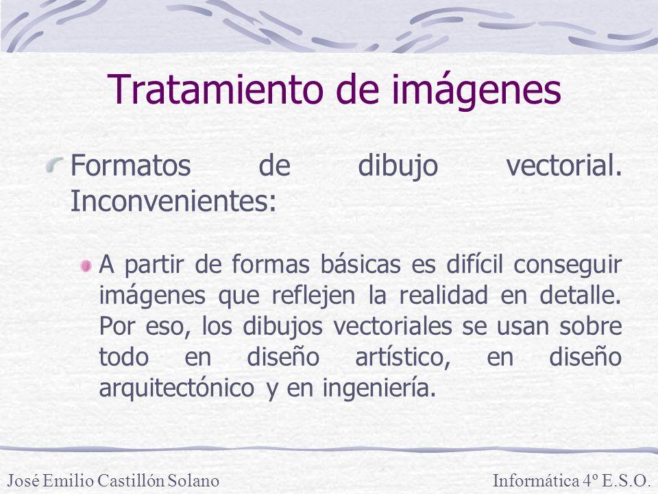 Formatos de dibujo vectorial.
