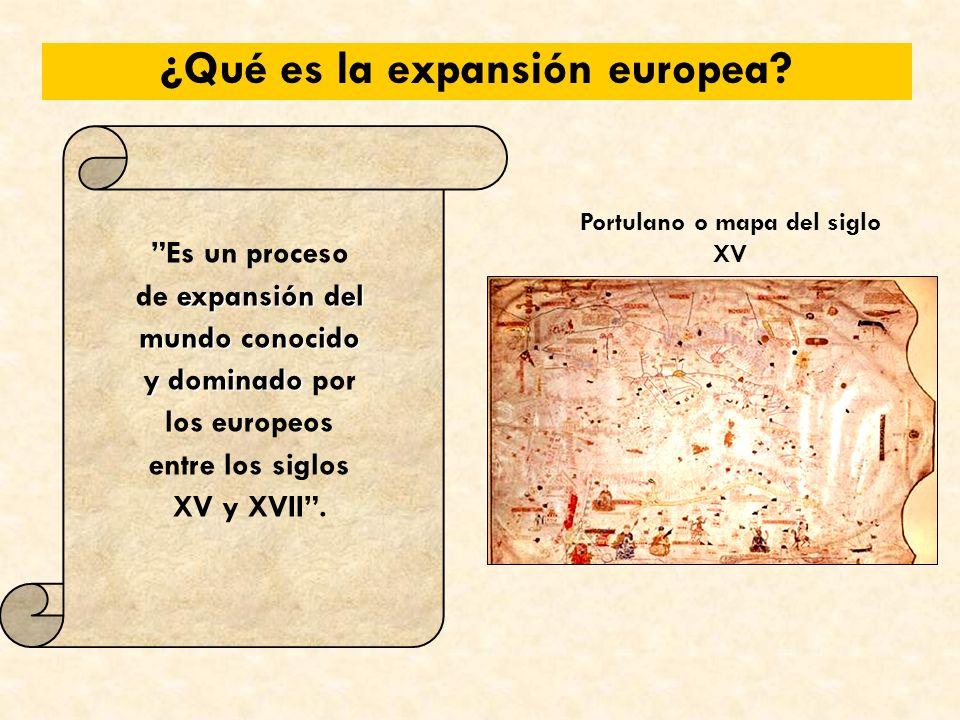 ¿Qué es la expansión europea.