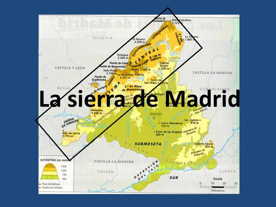La sierra de Madrid