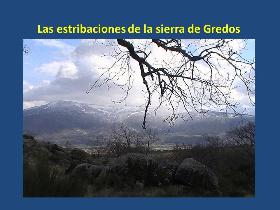 Se extienden desde el valle del Alberche hacia el suroeste. Son parte del bloque elevado que forma la sierra de Gredos, que en Madrid presenta alturas