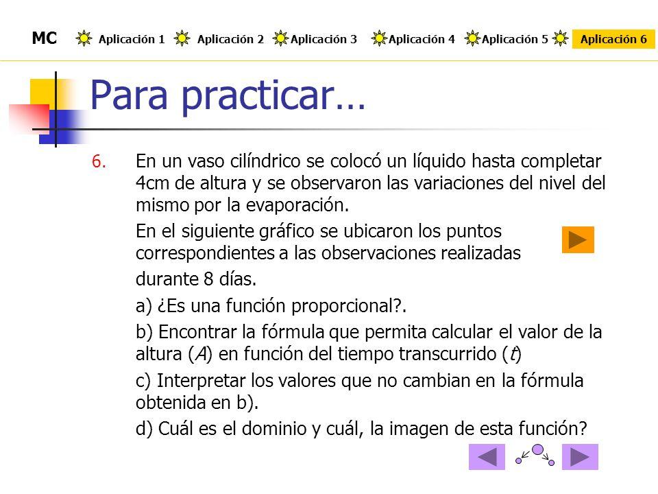 Para practicar… 6.
