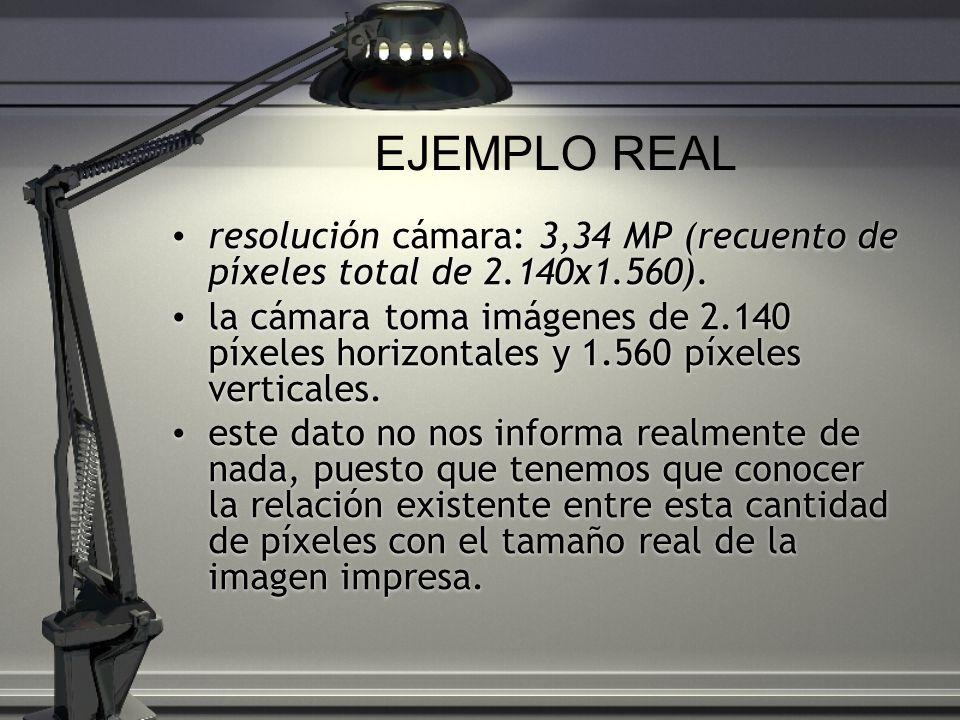 resolución cámara: 3,34 MP (recuento de píxeles total de 2.140x1.560). la cámara toma imágenes de 2.140 píxeles horizontales y 1.560 píxeles verticale