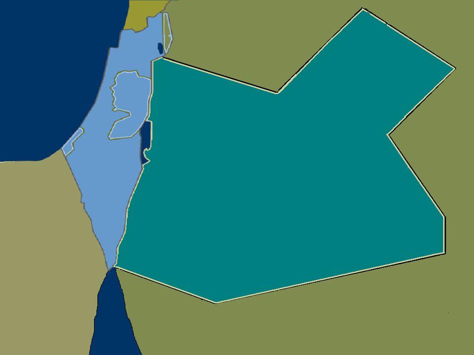 División de Palestina en 1946 Sinai Siria Líbano Transjordania (Actual Jordania) Palestina