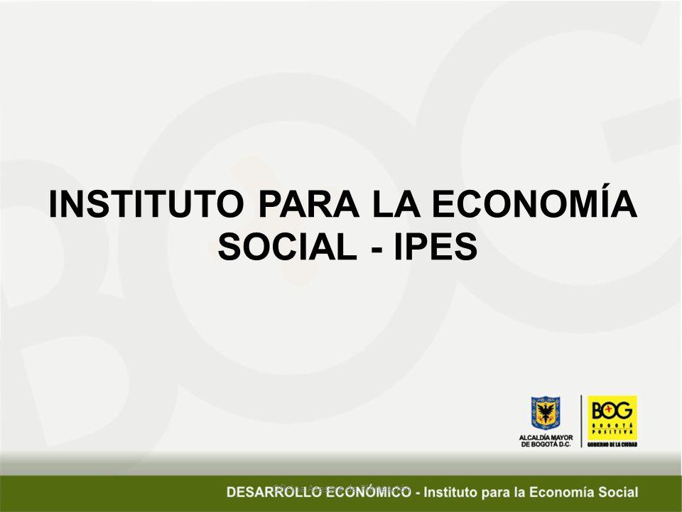 Oficina Asesora de Planeación INSTITUTO PARA LA ECONOMÍA SOCIAL - IPES