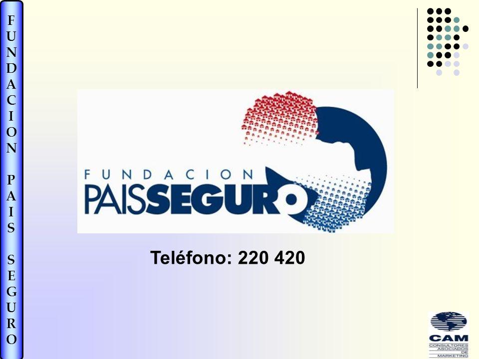 FUNDACIONPAISSEGUROFUNDACIONPAISSEGURO Teléfono: 220 420