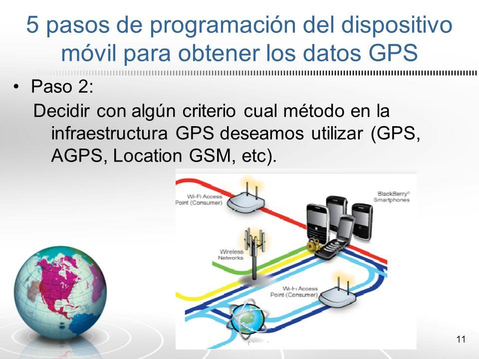 12 Paso 3: Crear un objeto (variable) de tipo LocationProvider (proveedor de localización), la cual se encarga de interactuar con la infraestructura elegida en el paso anterior para poder obtener los datos de geolocalización.