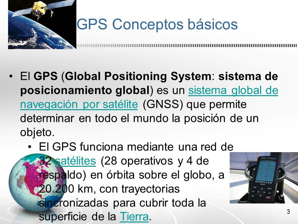 4 Conceptos básicos GPS Asistido: A-GPS fue desarrollado e introducido para mejorar el funcionamiento del sistema GPS.