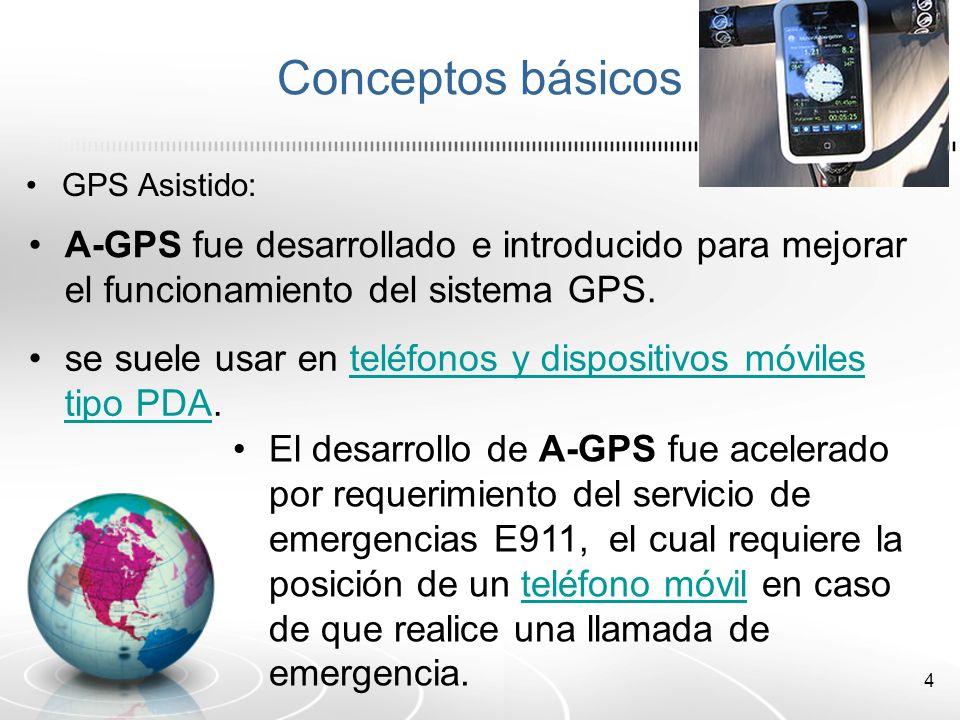 5 Funcionamiento de un A-GPS Un receptor A-GPS soluciona ciertos inconvenientes de diversas formas mediante el acceso a un Servidor de Asistencia en línea (modo on-line ) o fuera de línea (modo off-line ).