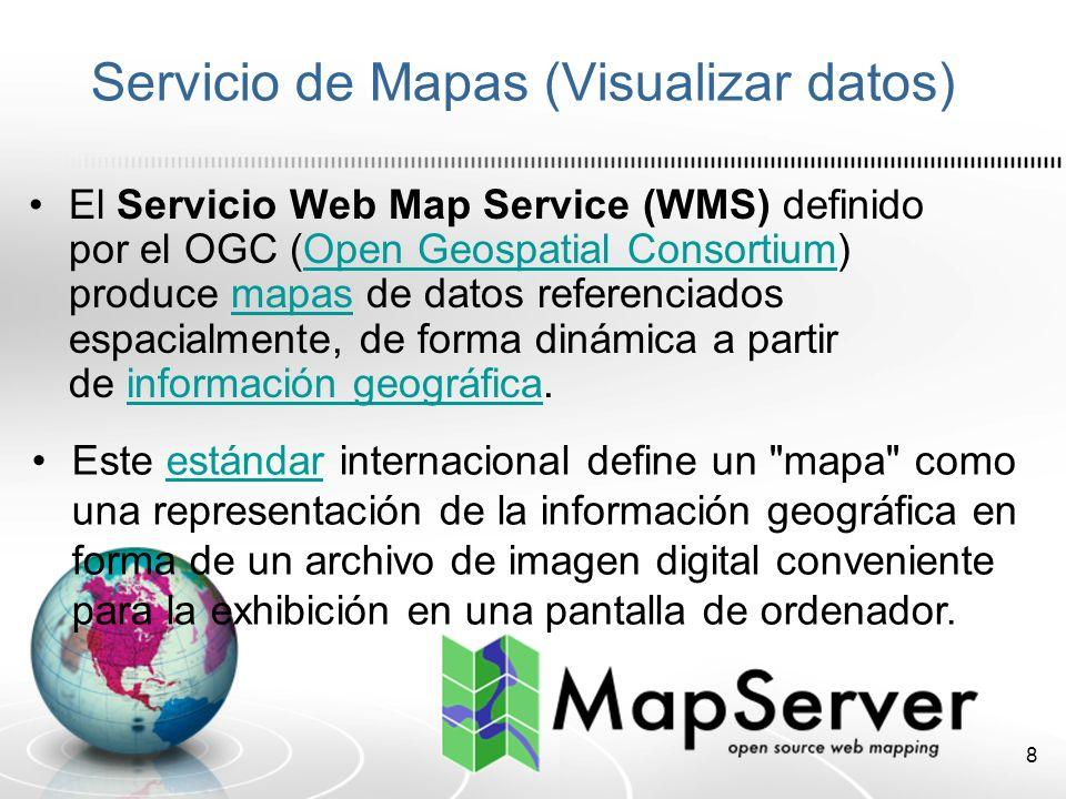 9 Aplicación móvil GPS Dispositivo móvil con capacidades GPS.