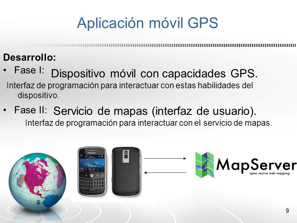 10 5 pasos de programación del dispositivo móvil para obtener los datos GPS Paso 1: Preparar nuestra aplicación para que pueda recibir información GPS.