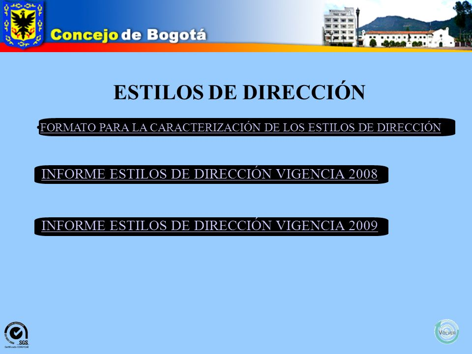 MANUAL DE FUNCIONES Y COMPETENCIAS Concepto Técnico del Servicio Civil Distrital Resolución 0563 del 19 de octubre de 2009 Manual Especifico de Funcio