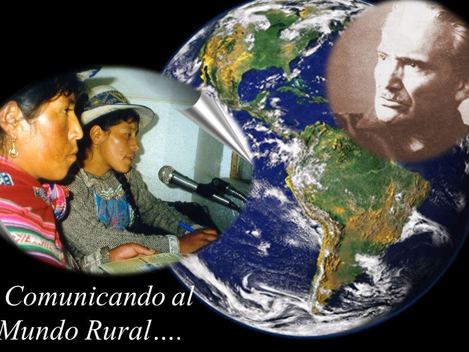 Comunicando al Mundo Rural….