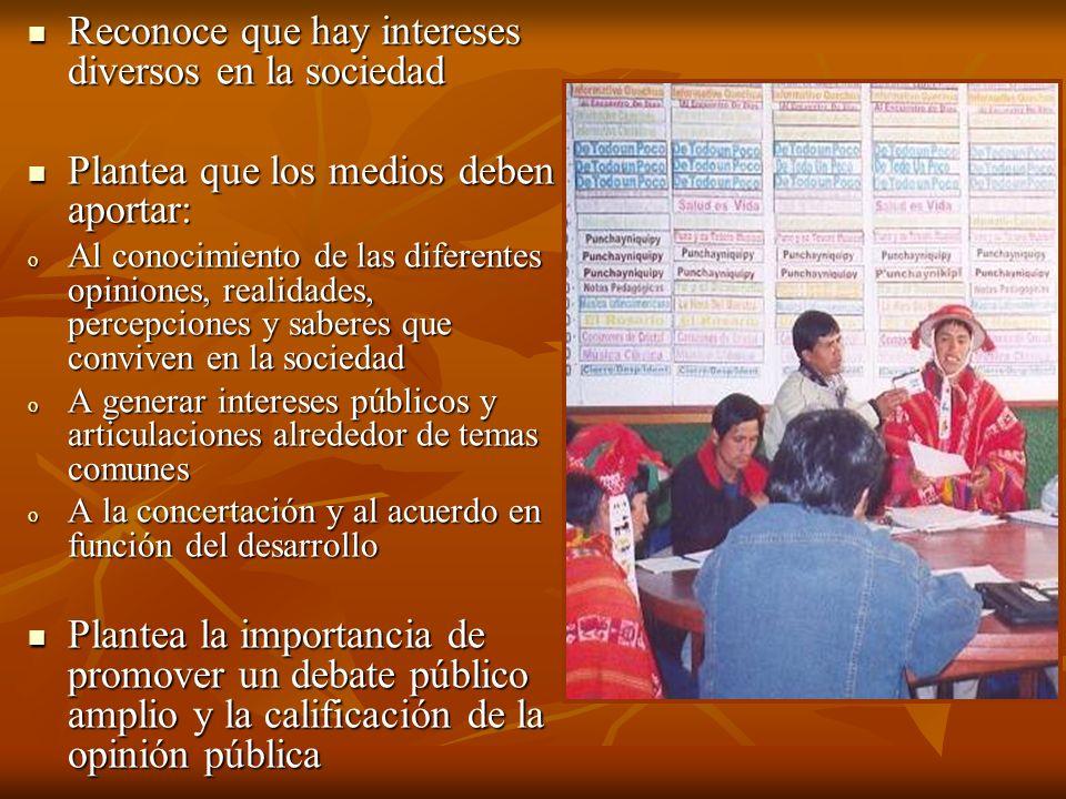 ACTOR COMUNICATIVO Miembro de una cultura (comunicadores o líder de opinión) ESPACIO COMUNITARIO Con necesidades Comunicativa especificas (coordinación provincias) ESPACIO COMUNICATIVO REGIONAL Que representa un contexto sociocultural político Red de comunicadores ESPACIO COMUNICATIVO NACIONAL CNR, Redes Nacionales de comunicadores indígenas POSICIONAMIENTO ENFOQUES Interculturalidad Equidad Sostenibilidad Derechos Humanos Territorialidad